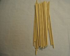 "12ct Wooden Wedding Cake Dowels 12"" x 3/16"