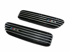 E30/E36/E46/E90/E91/E92/E93 M3 Replace Side Fender Vent Grille CHROME/BLACK BMW