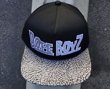 Dope Skateboard Co. Boys Black/Gray Mens Snapback Hat
