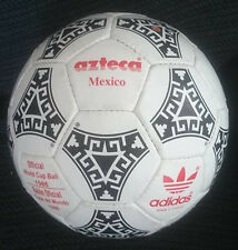 ADIDAS AZTECA BALL. WORLD CUP 1986 MEXICO. BALÓN MUNDIAL 1986. MADE IN FRANCE