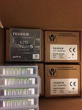 FUJI 16310732 LTO-6 2.5/6.25TB Tapes, # 16310732 - 10 Pack. New