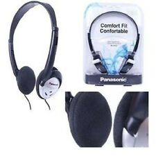 New Panasonic HT21 Lightweight Headphones,Headset with XBS Extra Bass System MP3