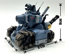 1/35 Metal Slug models Tank Action Mini Tank Plastic Model Kit  Blue