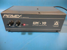 Peavy Architecural Acoustics UM-10 2 Channel Acoustics Mixer / Amplifier