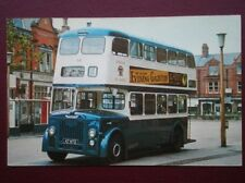 POSTCARD LYTHAM ST ANNES CORPORATION BUS NO 64 - 1960 LEYLAND PD2/30