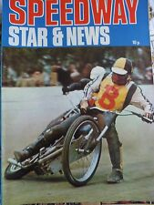 Speedway Star and News 28th August 1971