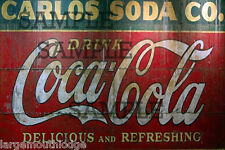 WEATHERED HO O SCALE 1/87 METAL HANGING BUILDING SIGN SODA FOUNTAIN DIORAMA