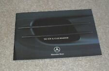 Mercedes SL Roadster Preview Brochure 2001-2002 - SL500 & SL55 AMG