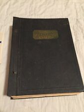 Vintage Chicago Technical College Drafting Drawing Home Study Book 1950's