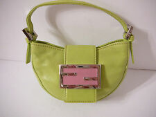 Fendi  Micro MINI green leather bag $695.