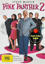 ●● THE PINK PANTHER 2 ●● (DVD, R4) Lily Tomlin, John Cleese, Steve Martin AS NEW