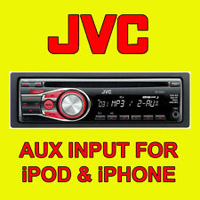JVC CD AUTO RADIO STEREO TUNER head unit Player iPOD / iPHONE AUX input FACE OFF
