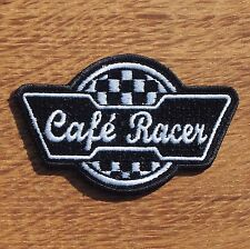 Motorcycle Biker Rocker Greaser Cloth Patch Leathers Cut Off Cutte CAFE RACER