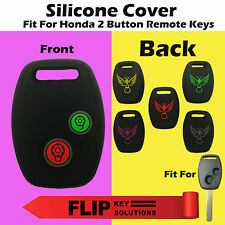 Designer Silicone Key Cover for Honda City,Civic,Amaze & Brio 2 Button key 1p.