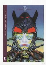 Carte postale. Philippe Druillet. carte annonçant la vente BD Drouot du 13.02.16