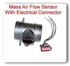 MASS AIR FLOW SENSOR W/ CONNECTOR Fit:BMW M3 M5 M6 Z3 Z4 VW Beetle Golf Jetta