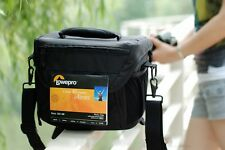Lowepro Nova 180 AW DSLR Camera Photo Carry Shoulder Sling Bag & Rain Cover