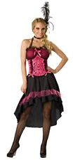 ADULTS WOMENS PLUS SIZE WESTERN CAN CAN MOULIN ROUGE SALOON GAL COSTUME - 24/26