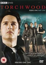 Torchwood Series 1 Part 1 (BBC) John Barrowman - NEW Region 2 DVD