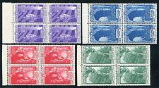 1935 Italia Regno Milizia IV serie PO di 4 valori nuovi integri spl **
