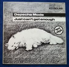 "Depeche Mode Just can't get enough WHITE weißes Vinyl Single 12"" 1981 RARITÄT"