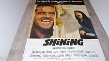 stanley kubrick SHINING !  stephen king affiche cinema 1980