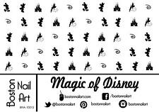 Magic of Disney Waterslide Nail Decals  - 50 PC - BNA-10015
