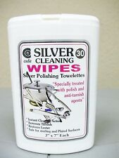 Silver Cleaning Jewelry Wipes 30 Wipes