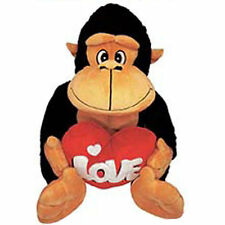 "11"" Gorilla Plush Black Tan Valentine Mother Birthday Anniversary NEW 971"
