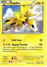 1X Zapdos 23/108 - Normal Rare Electric Pokemon - NM - Roaring Skies