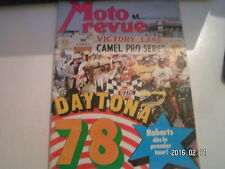 ** Moto revue n°2357 Daytona / Essai 250 KTM cross / Schreiber gagne en Espagne