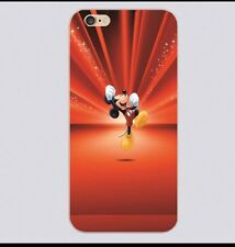 Red Disney Mickey Mouse Burst Case Cover For iPhone 4 Or 4s.