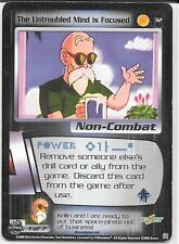 Dragonball Z TCG *Gratis Schutzhülle* | The untroubled mind is focused #3 | 2000