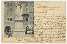 Ferrara - Piazza Savonarola