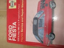 OWNERS MANUAL FORD FIESTA 1976-83, PETROL UP TO Y REGISTRATION