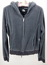 Women's Ecko Red Gray Hoodie with Stitched Logo on Back L