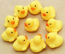 10 Small  Kids Bath Rubber Duck Toys Bath time Fun Time Floating Water NEW