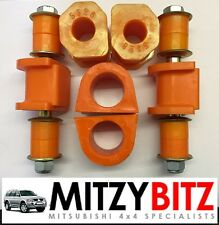 Mitsubishi Challenger Shogun Sport NEW FRONT & REAR Anti Roll Bar BUSH KIT 96-07