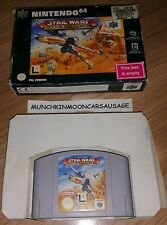Boxed Star Wars Rogue Squadron No Manual for PAL Nintendo 64 N64 - FREE UK P&P