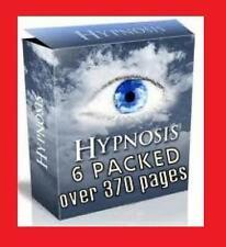 LEARN ALL ABOUT HYPNOSIS - UNLEASH THE POWER WITHIN YOURSELF = 6 BOOKS PACKAGE!!