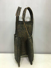 Laos Luzon Bontoc Rattan Woven Hunting Food Backpack