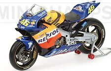 MINICHAMPS 122 027146 2nd Issue Honda RC211V diecast bike REPSOL V Rossi 1:12th