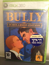 Bully Scholarship Edition XBOX 360 Rare Rockstar game SEALED European EditionPAL