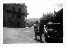 URRUGNE BEHOBIE PHOTO POSTE FRONTIERE CITROEN TRACTION AVANT ?? 1952