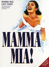 Mamma Mia Easy Piano ABBA Sheet Music Song Book PVG
