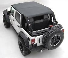 Smittybilt Black Diamond Extended Soft Top For 10-16 Jeep Wrangler JK 4 Door