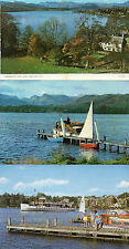 Cumbria ,Lake district x3 Windermere unposted 1960's/70's'