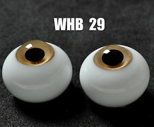 Good 14mm LightBrown Iris with Lines Glass BJD Eyes for 1/4 BJD Doll