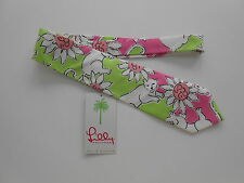 Lilly Pulitzer Mens Tie Palm Beach Tiger Print Mint with Tag never worn