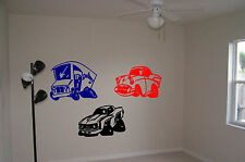Cars Hot Rod Wall Stickers Wall Art Rat Rods Vinyl Decal Sticker Boys Room Truck